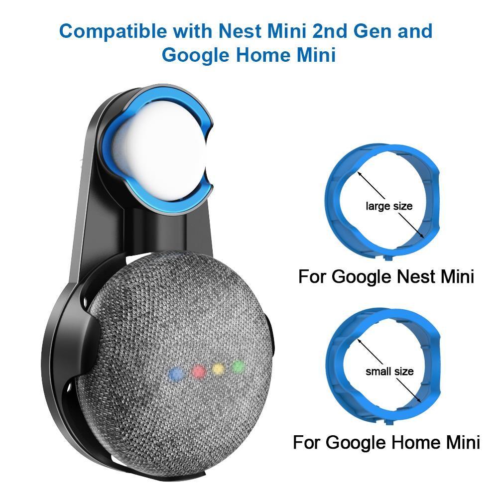 mart Ev Otomasyon Modülleri Çıkışı Duvar Montaj Tutucu Kordon Parantez İçin Google Ana Nest Mini Ses Asistanı Plug In Mutfak Yatak Audi ...