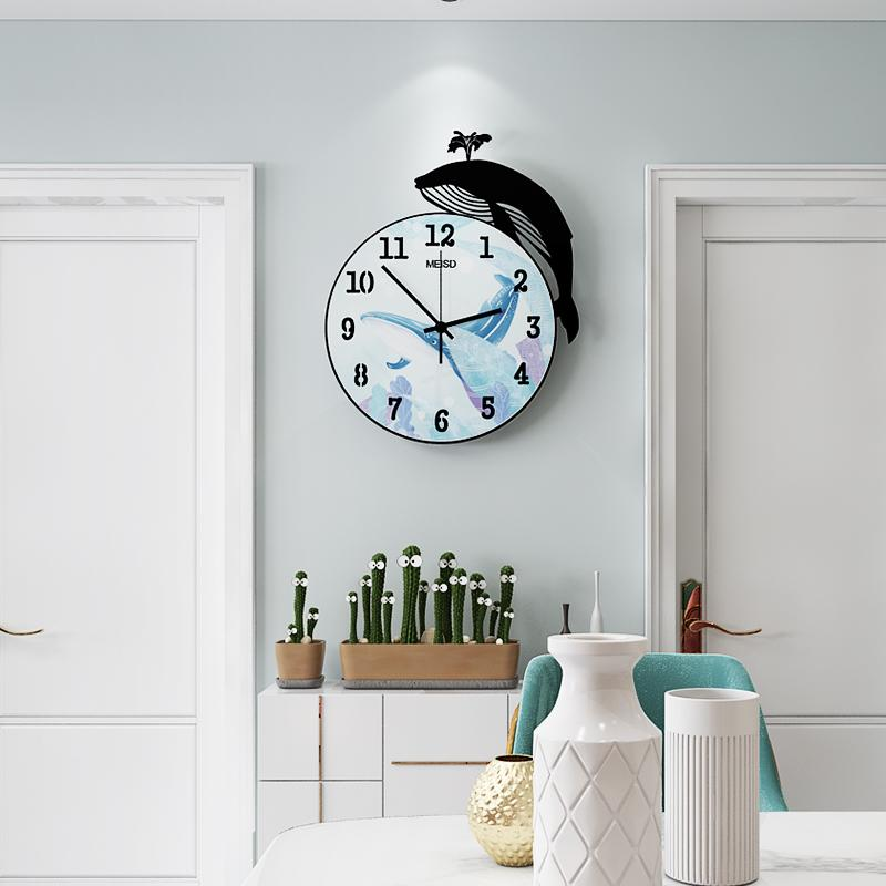 steampunk room decor.htm new 3d cartoon whale acrylic sea blue round wall clock modern  whale acrylic sea blue round wall clock