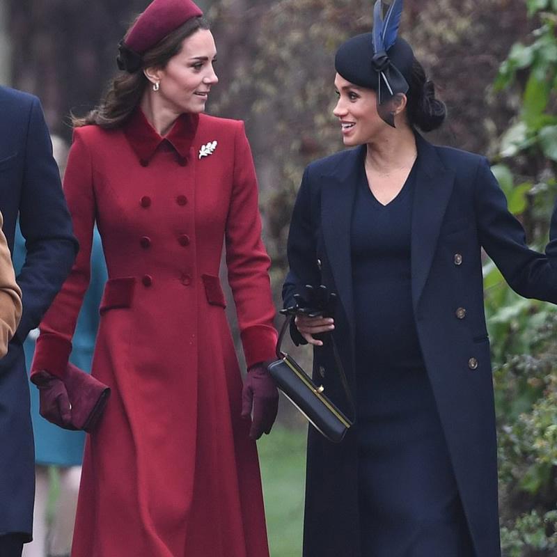 vendita Kate principessa Red Cappotto Fahion Warm Doppio Petto Turn-down Collar Coat