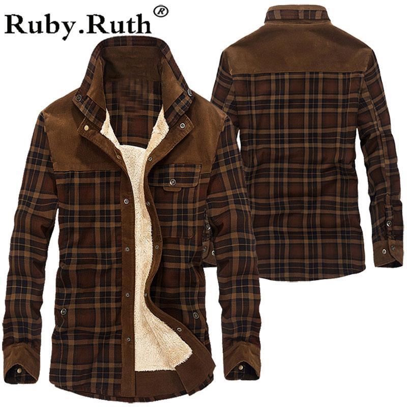 Agasalho Velo Exército grossa jaqueta Outono Inverno de homens homens Slim Fit Vestuário Mens Vestuário