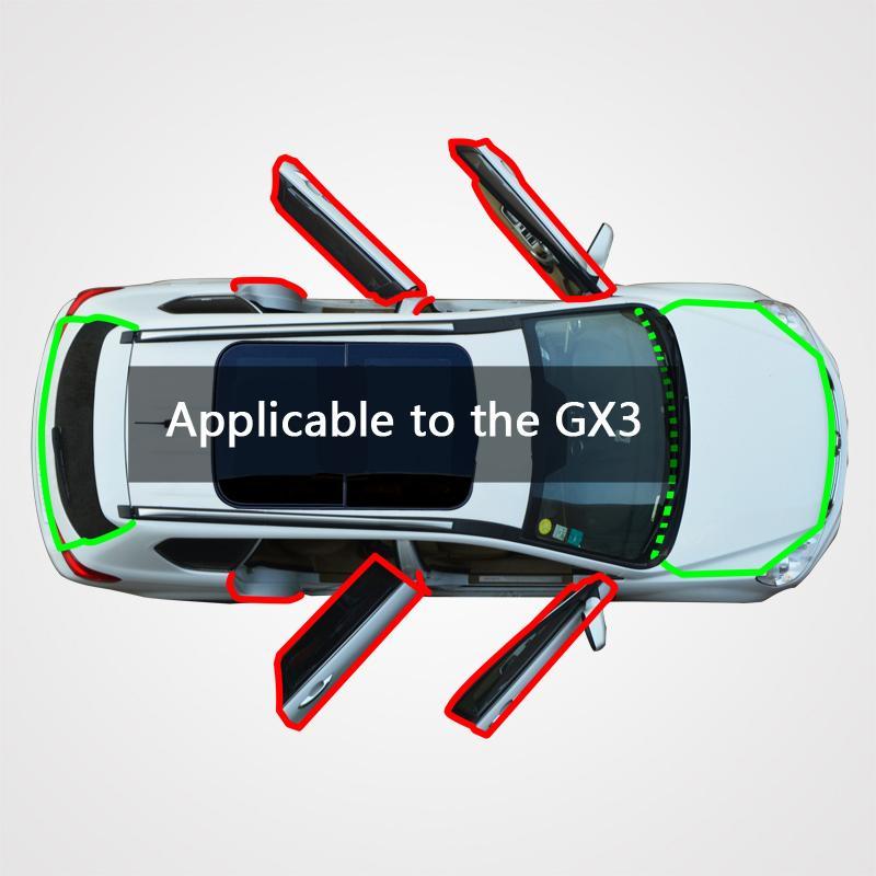 Para tira de vedação carro GX3 zte
