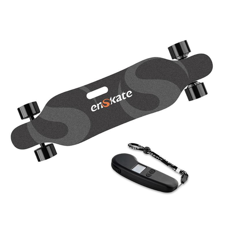 Skateboarding Enskate R2 Skateboard Electric Skateboard Max 22 mph 15 miles Gamme 900W Dual Moteurs avec scooter électrique à distance sans fil