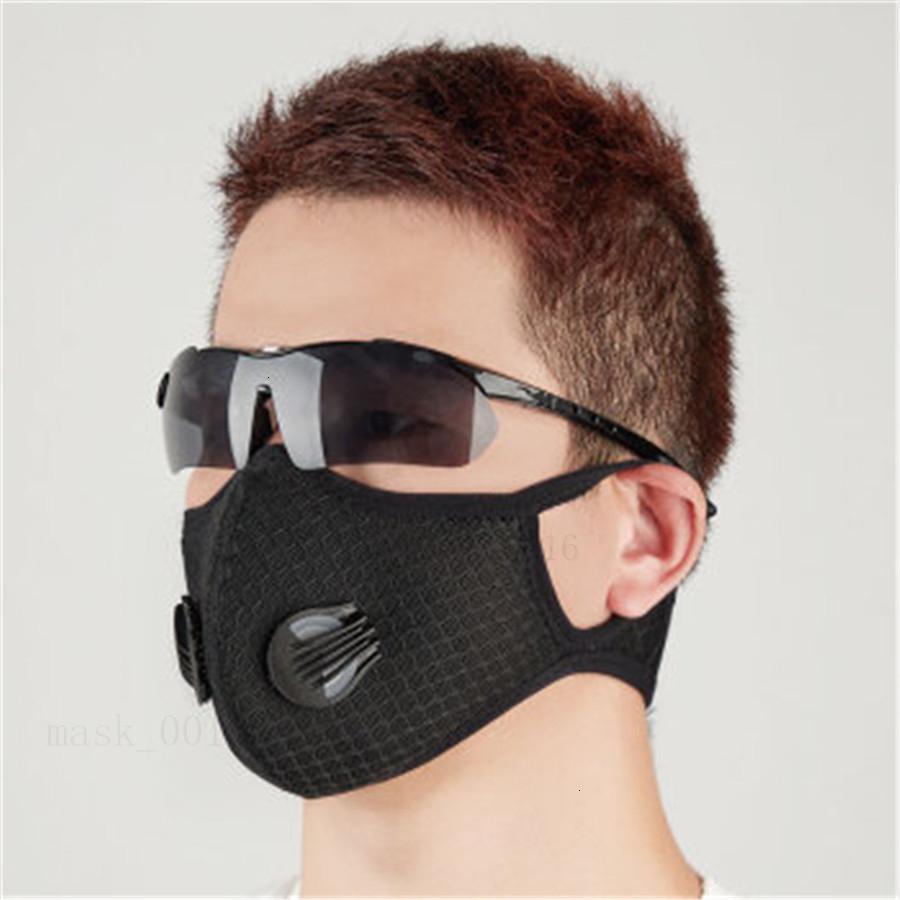 Sostituzione monouso viso ing traspirante Maschera Guarnizione respirano Mat per il ciclo della maschera di protezione del fazzoletto da collo tutti i generi di N02 QA
