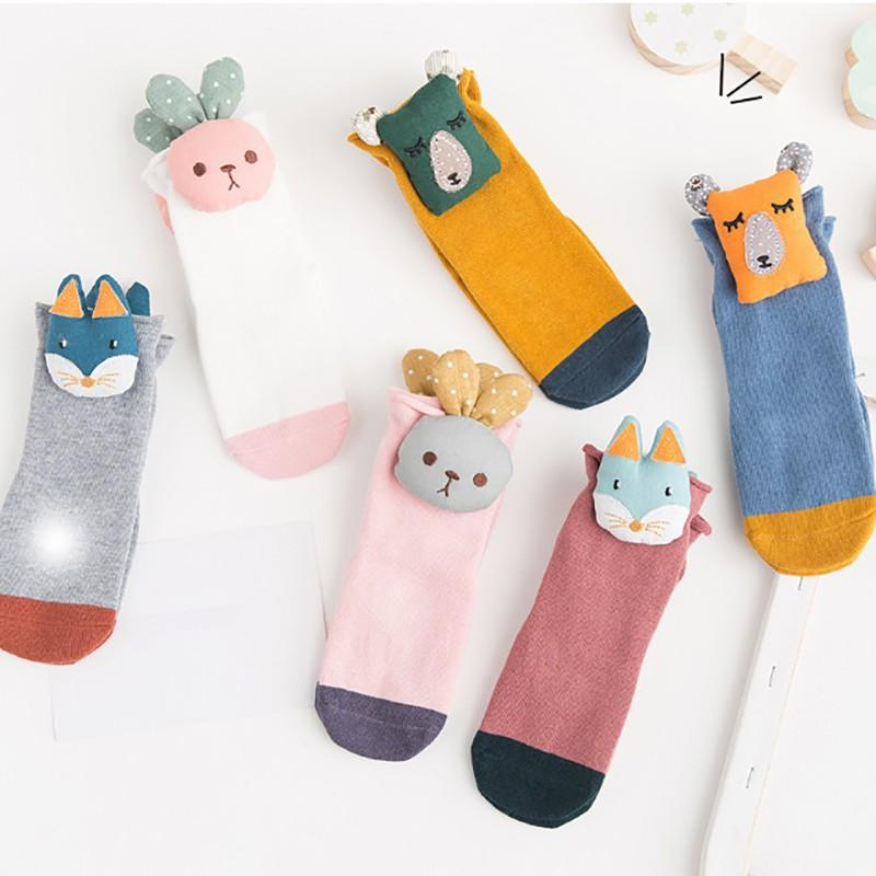 Baby Anti-Slip Sock Cute Infant Cotton Cartoon Animal Xmas Floor Winter stocking