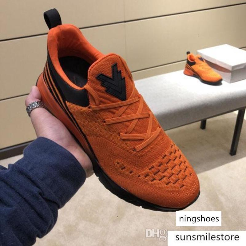 NEW 2020 concepteur chaussures de luxe bas pour aider coton stretch chaussures luxe hommes visage fête de mariage en plein air chaussures de sport taille 38-45
