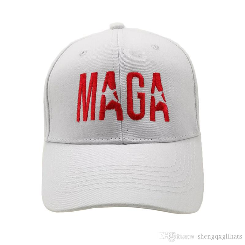 Gorra caliente MAGA alta calidad de beisbol bordada Donald Trump papá Sombrero del Snapback del sombrero para los hombres de las mujeres