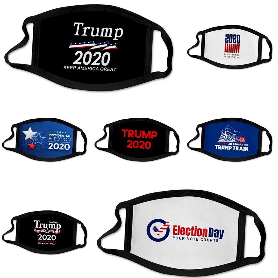 2020 Tasarımcı Trump Yüz 2.5 Koruyucu toz geçirmez # 771 Maske Çocuklar Yüz Anti Toz Sis Pm Engelleme 3 Kat nefes Maskesi