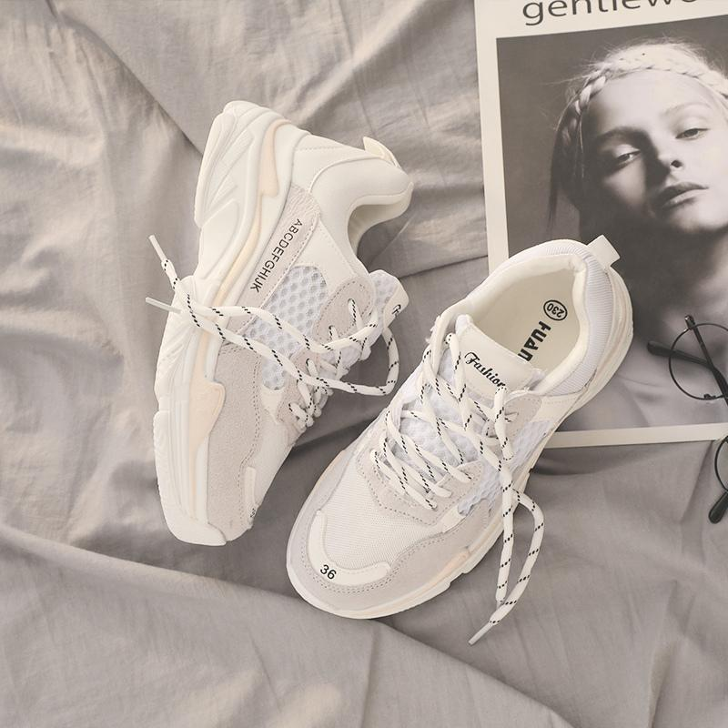 INS Vintage Dad Sneakers Women Shoes
