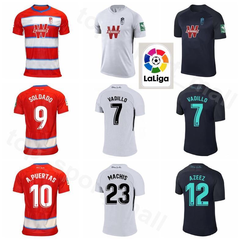 2019 2020 غرناطة كرة القدم جيرسي 23 MACHIS 7 فاديلو 16 VICTOR دياز 9 سولدادو 10 PUERTAS 21 هيريرا 19 MONTORO كرة القدم أطقم قميص
