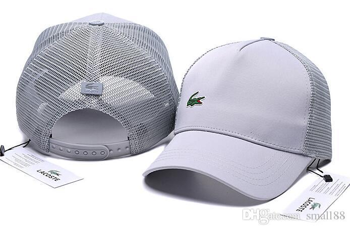2019 Nuevo diseño de marca de alta calidad para hombre para mujer sombreros gorras de béisbol del snapback Clásico dama de la moda de verano camionero casquette causal gorra