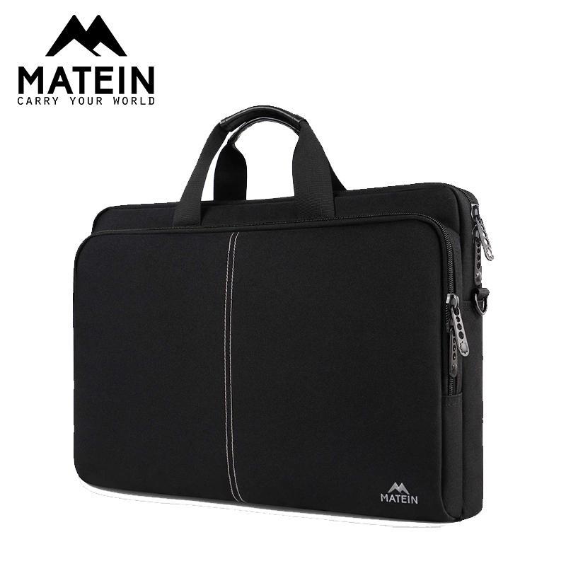 Matein 17.3inch Laptop Business-Herren-Aktenkoffer Büro Taschen für Gelegenheits Frauenschulterbeutelgrossist einzelne Schulter Trage
