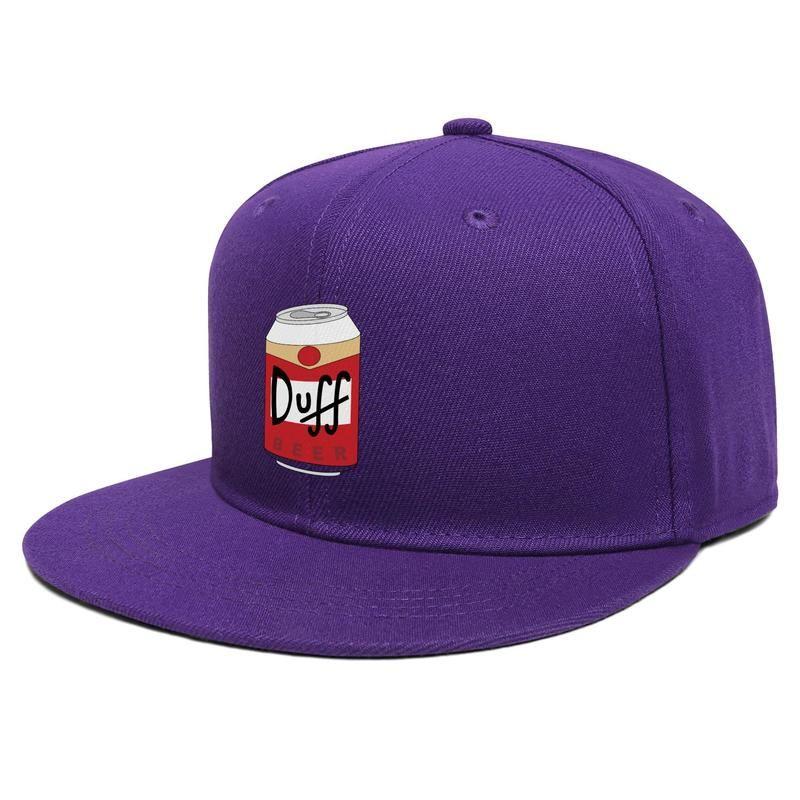 Hip cerveza Duff unisex plana visera de la gorra de béisbol Deportes Hop gorras de camionero logotipo de Pintura