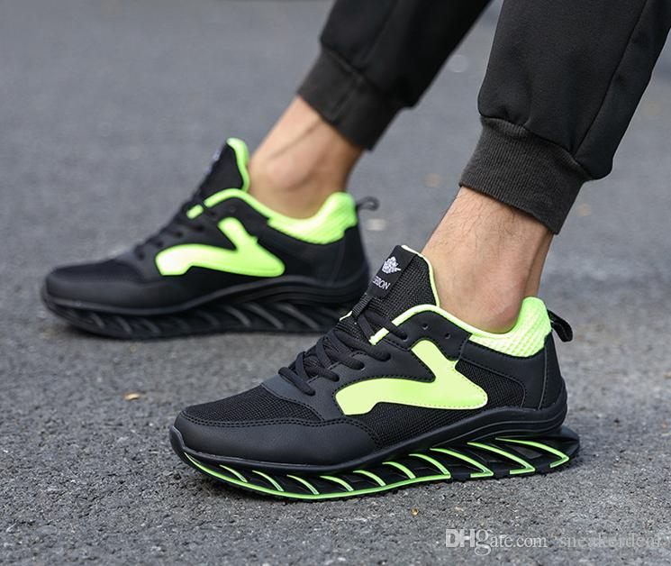 Männer Laufschuhe Breathable Männer im Freien Turnschuhe Erwachsene bequeme Mesh-Sportschuhe Soft-Jogging Tennis Schuhe