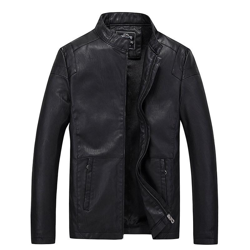 AliExpress Vêtements pour hommes Vêtements New Style Automne Veste mode Locomotive manteau en cuir jeunesse en cuir pour homme Manteau Mode