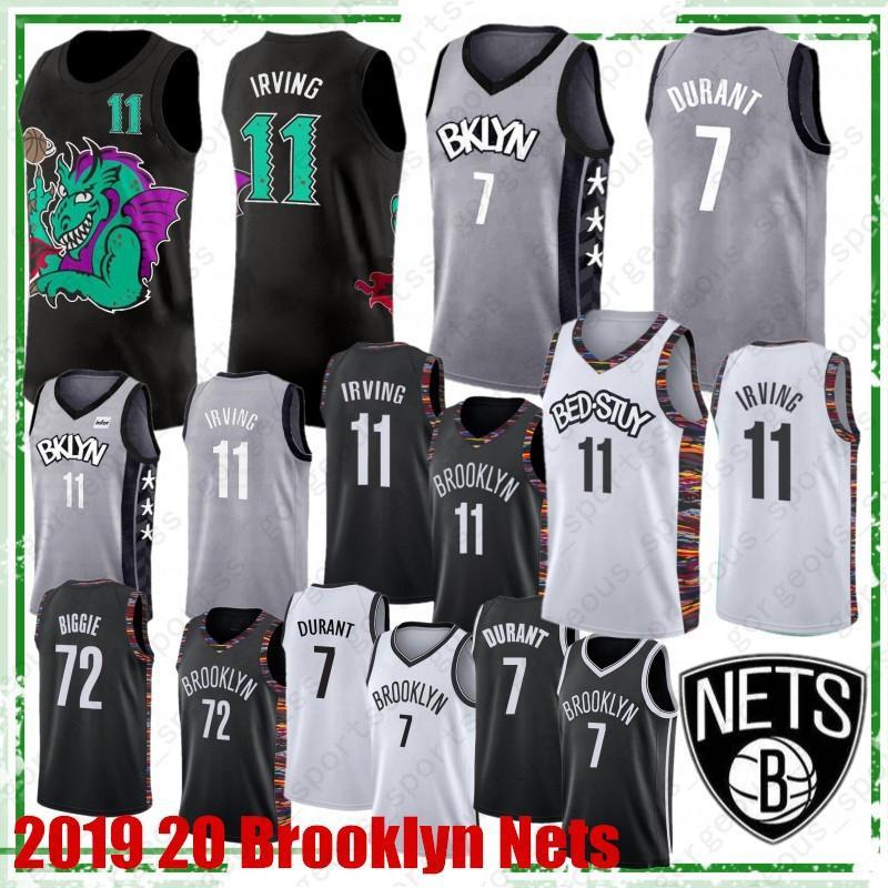 NCAA Kevin Durant 7 2019 2020 Novo Basquete camisa camisa Kyrie 11 Mens Irving College Basketball vendas Hot jerseys Top Quality