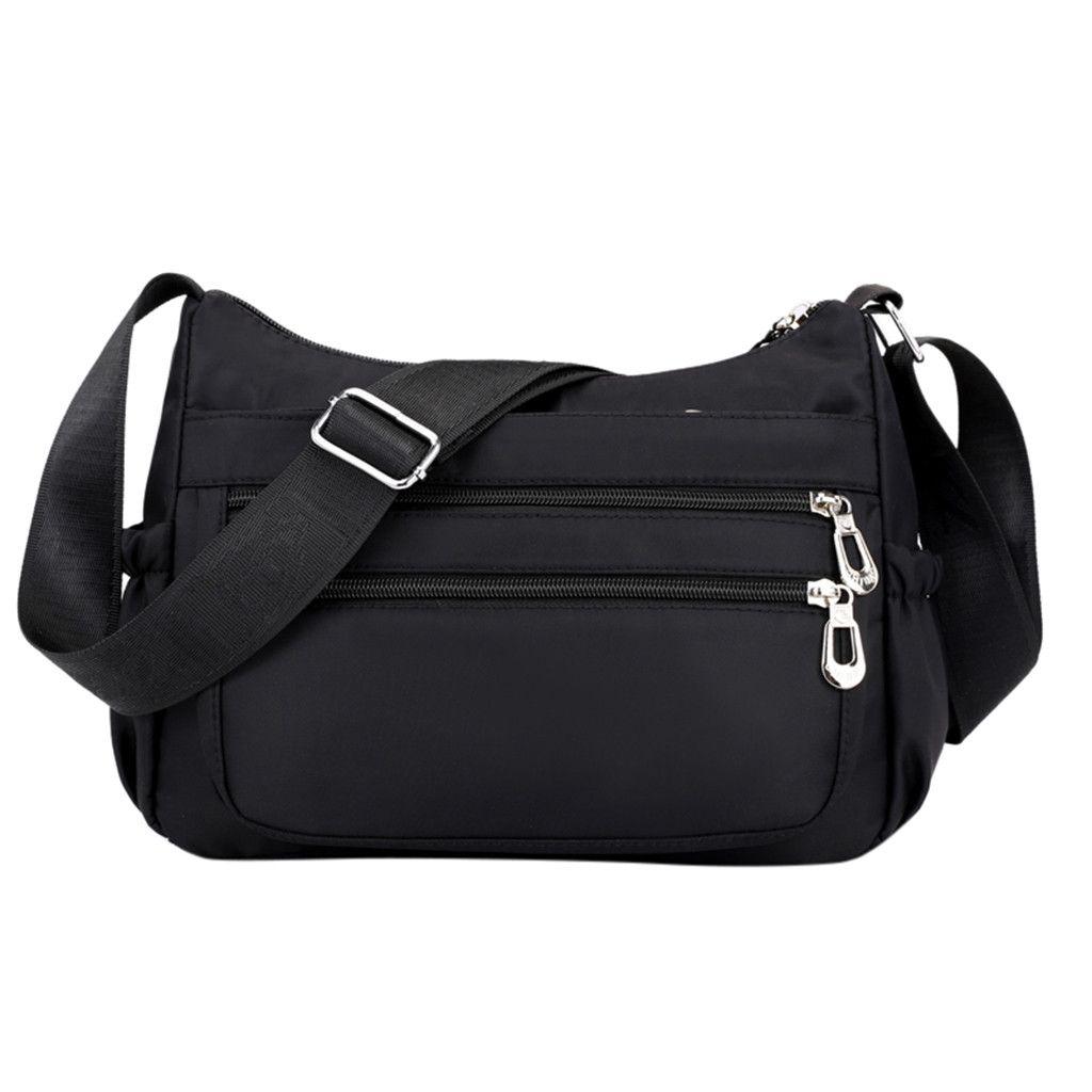 Sac bandoulière femme Casual Messenger Crossbody Bag Solid Color Sacs pour les femmes Carteras Mujer De hombro 2019 T2 #