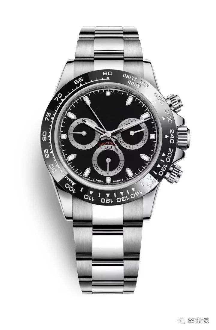 lujo populares los hombres de acero inoxidable marco de cerámica de zafiro relojes mecánicos automáticos multifuncionales, 2020 nuevos relojes mecánicos