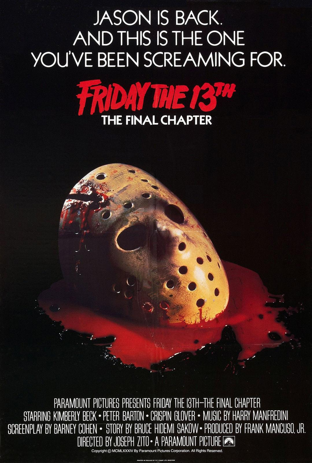 Friday the 13th Hot Movie Silk Canvas Poster Wall Art Print 24x36 inch