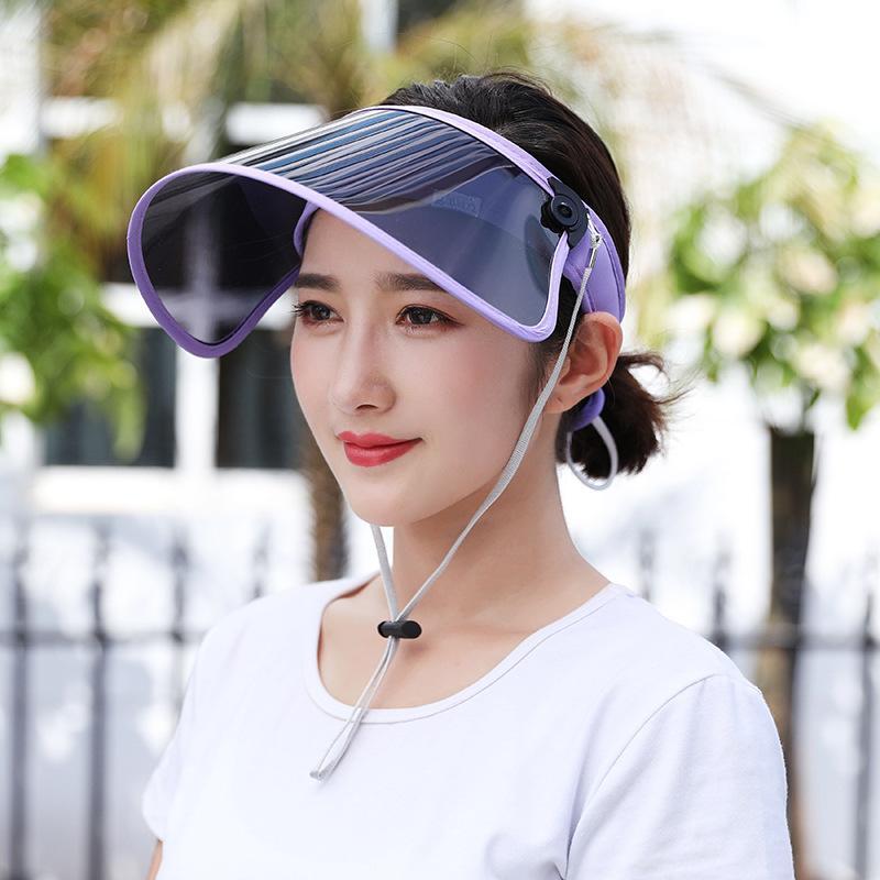 Sombrero de sol al aire libre Deportes al aire libre Sombrero de sol Color caramelo Deportes Sombrero Damas