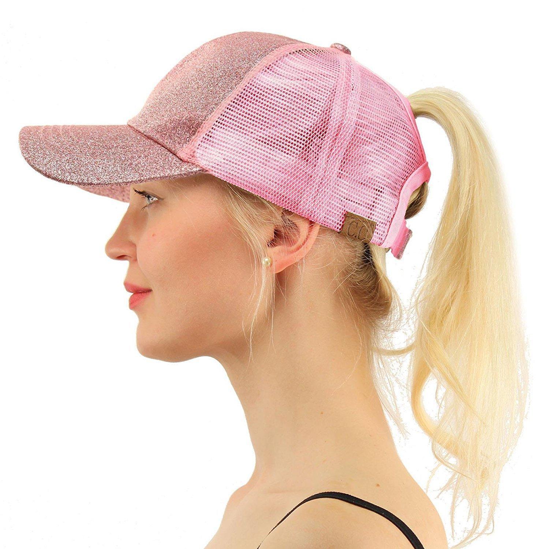 Sıcak Yeni Glitter Beyzbol şapkası Yaz Baba Şapka Kadınlar 2018 Snapback Hip Hop Caps Dağınık Pullarda Shine Mesh Trucker Hat İçin