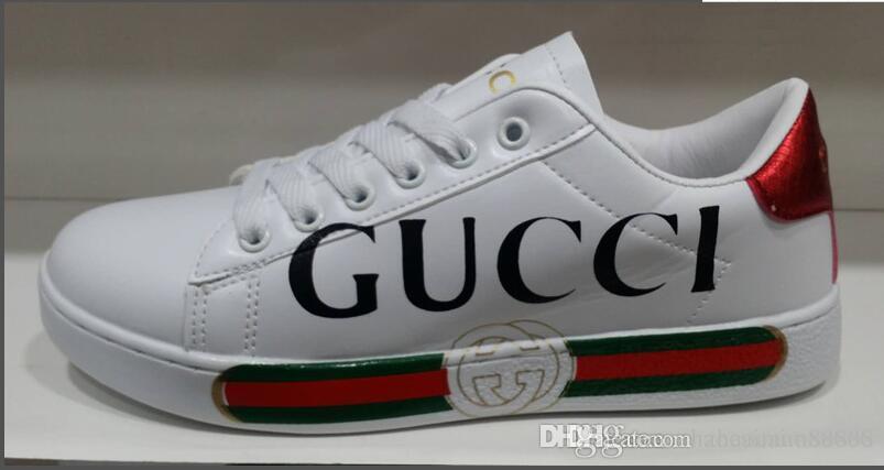 2019 Yüksek Kalite marka Erkekler Bayan Ayakkabı Erkek Sneakers Moda Atletizm Eğitmenler Koşu Spor Ayakkabı boyutu 36-45 Yeni Gelenler Ücretsiz Kargo