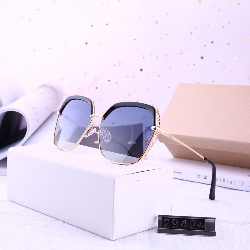 neue Art randlose quadratische Damendiamantsonnenbrille UV400 Metallsonnenbrille-Großhandelsgläser
