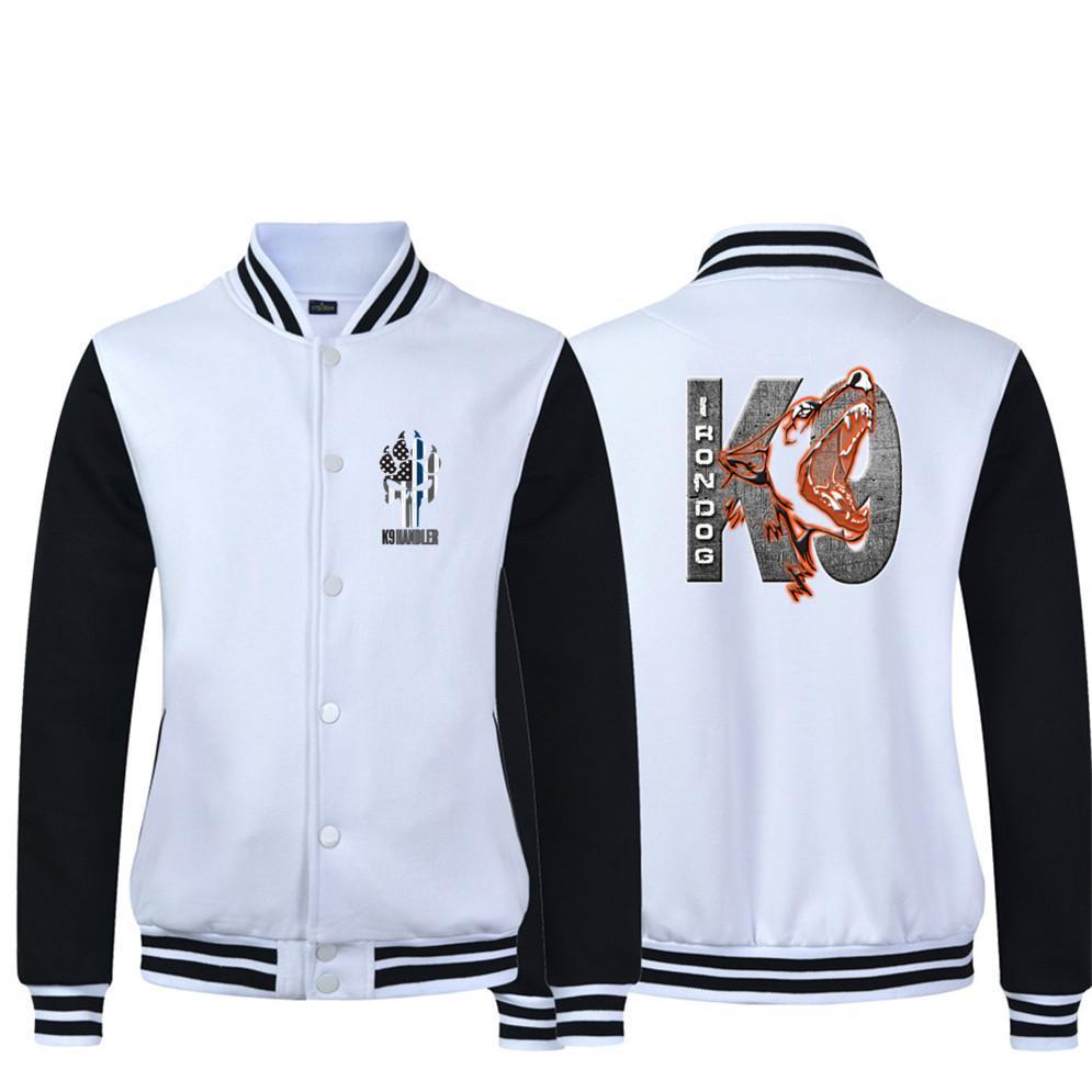 Canine K9 war dog 2019 Fashion Tops Summer Baseball uniform casual homme Hip Hop Swag