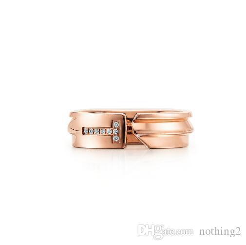 Bagues femmes S925 en argent sterling plaqué ouvert Anneaux femmes mariage Anneaux Bijoux