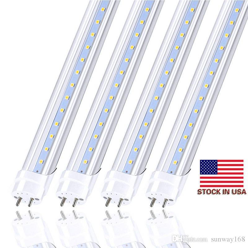 Led Tubes 4ft 1200mm T8 Led Tube Light High Super Bright 2ft 11W 3ft 18W 4ft 22W 28W Led Fluorescent Bulbs AC110-240V