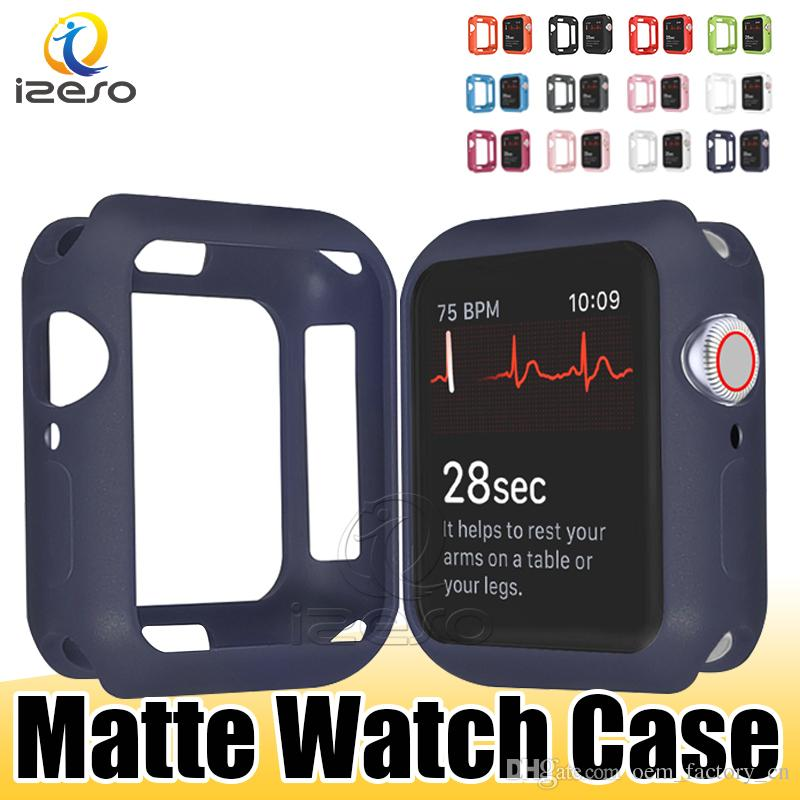 Soft TPU Watch Cases for Apple iWatch Series 6 5 4 3 2 Design Cover for iWatch Cases 44mm 40mm 42mm 38mm izeso