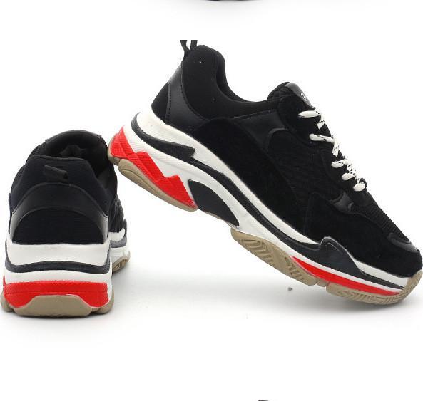 2020 Größe 36-45 New Designermarken Freizeitschuhe für Triple s Männer Frauen Low Cut-beiläufige Schuh-Turnschuhe Unisex Zapatillas Trainer