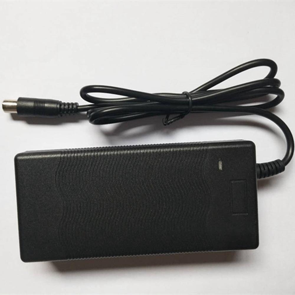 bateria bicicleta elétrica saída do plug 2A DC inteligente Xiaomi Mijia M365 scooter de lítio carregador de bateria 42V
