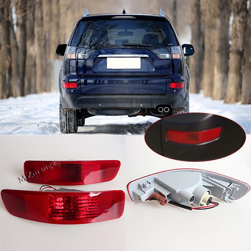 Задний правый левый задний противотуманный фонарь Противотуманная фара Отражатель лампы 8352A005 8337A015 для Mitsubishi Outlander EX 2007 2008 2009 2010 2011 2012