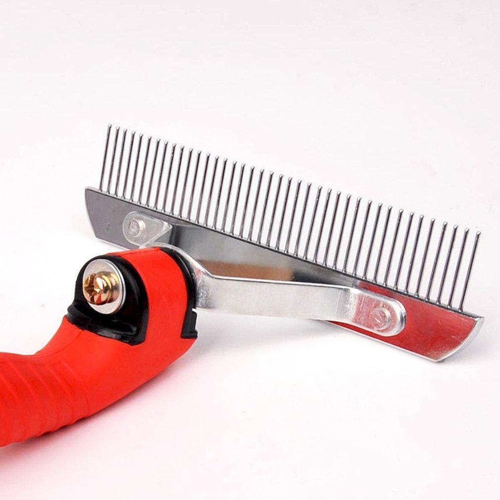 Chien épilateur Brosse Toilettage pour animaux Peignes Tondeuse pour chat chien cheveux deShedding outil Pet Supplies