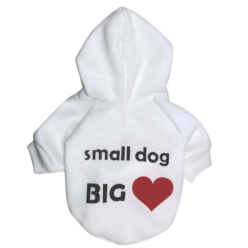 Köpekler Giyim Ropa Para Perro için PUOUPUOU Klasik Harf Köpek Giyim Kış Sıcak Pet Elbise Polar Köpek Coat Ceket Hoodie