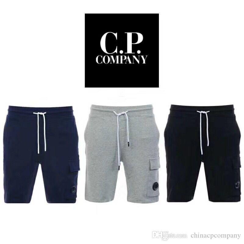 c.p société offre exclusive Croix-frontière de vêtements de commerce extérieur couleur pure pantalon quintuples trois couleurs Tailles M-3XL laine de coton pur