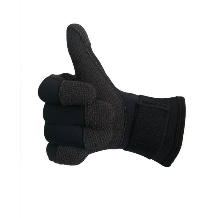 3MM/5MM Kevlar Scuba Diving Gloves Neoprene Anti-skid Wear Resistant Scratch Prevention Gloves for Winter Fishing Spearfishing
