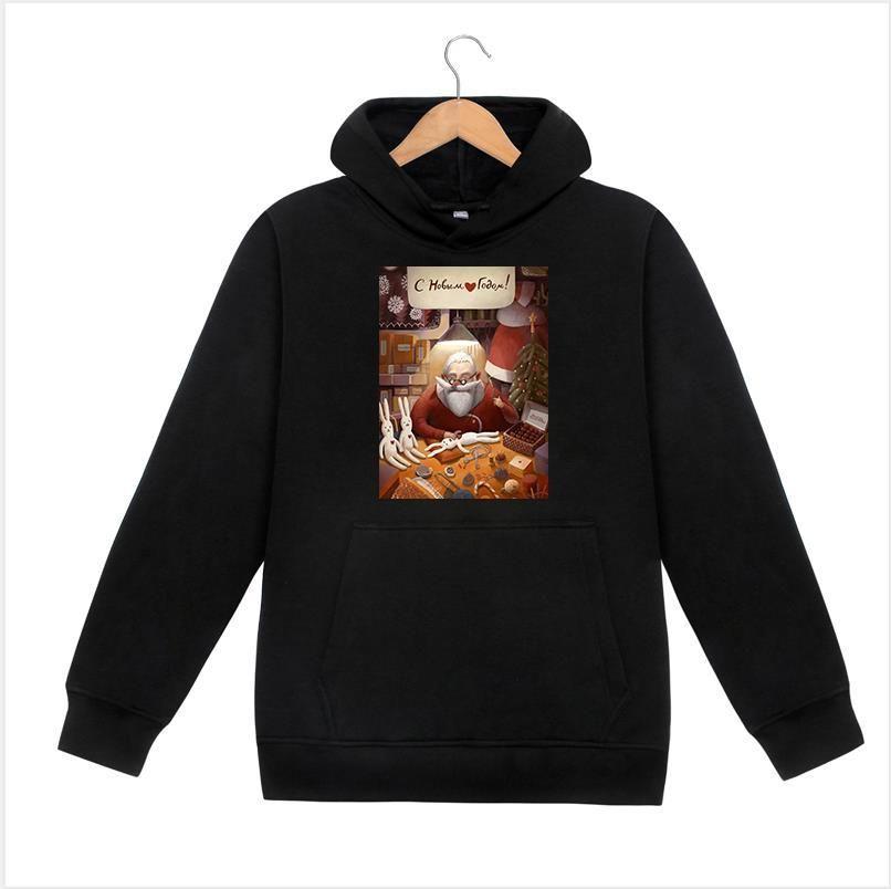 Hoodie Männer Weihnachten Kleidung Mode Homme Deisgner Hoodie DruckHoodie Pullover Letter Print Sweater Männer Kleidung 2020 # P1
