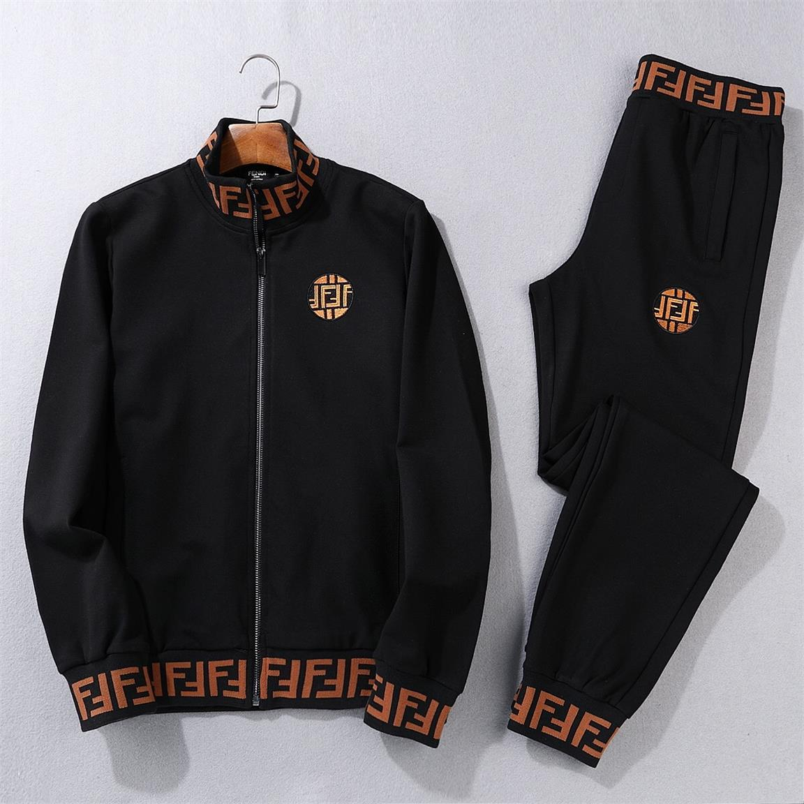 2020 Mens Casual Tracksuits Letter Print Jogger Fit Suits Pollover Pants Outfits.y3