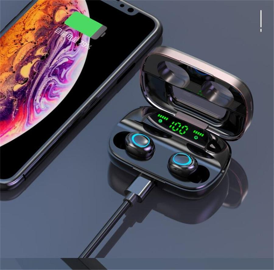 X11 X13 sans fil Bluetooth écouteurs écouteurs 5,0 Puissance écran de contrôle tactile Sport Stereo Cordlessadphone Sport Earbuds Gaming Headset