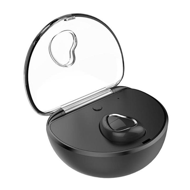 بلوتوث سماعات الأذن X7 TWS سماعات بلوتوث لاسلكية مع ميكروفون في الأذن سماعات الرياضة تشغيل سماعات للهاتف الخليوي الأسود