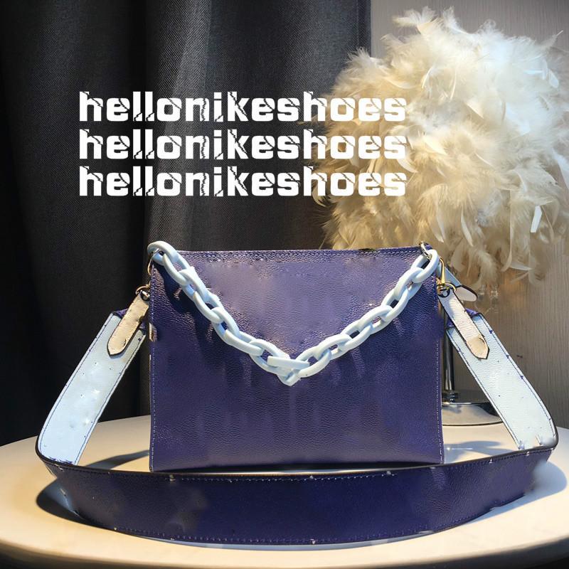 Best Selling Designer Luxury Crossbody Bolsas 2020 Marca Moda Moda Bolsa Largura Cor-de-rosa Senhoras Rosa Correntes Bags Carteira bolsa bolsa bolsa