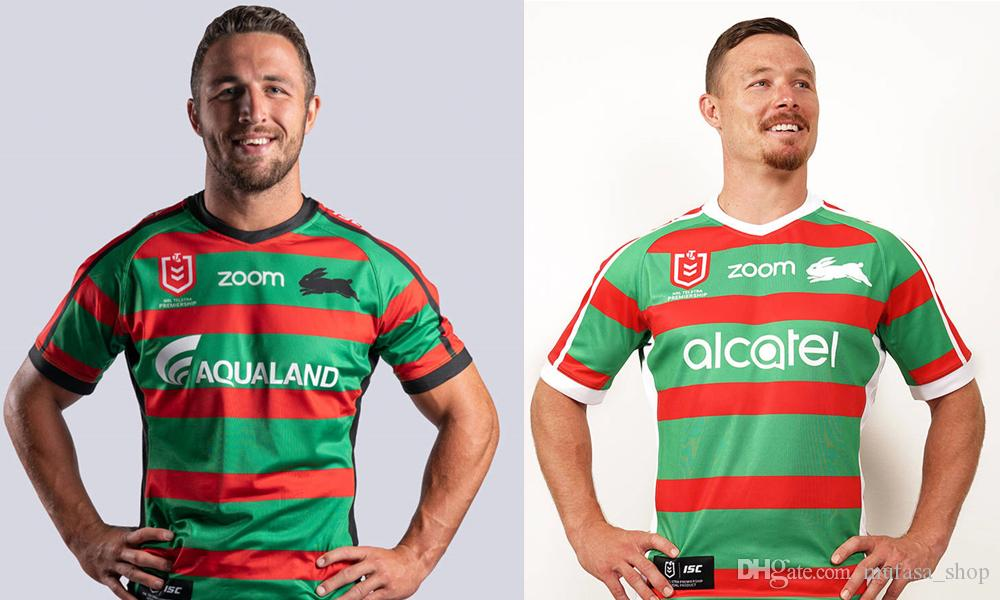 2020 2019 South Sydney Rabbitohs Home Away Rugby Jerseys Shirt Jersey Australia Rabbitohs Shirts S 3xl From Mufasa Shop 17 26 Dhgate Com