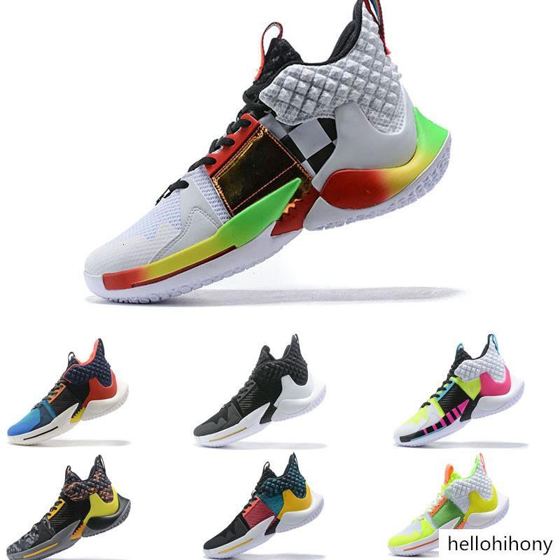 2019 new Russell Westbrook 2 basketball boots Why Not Zer0.2 PF all star Men's Basketball Shoes Trainer Sport Sneaker size 40-46
