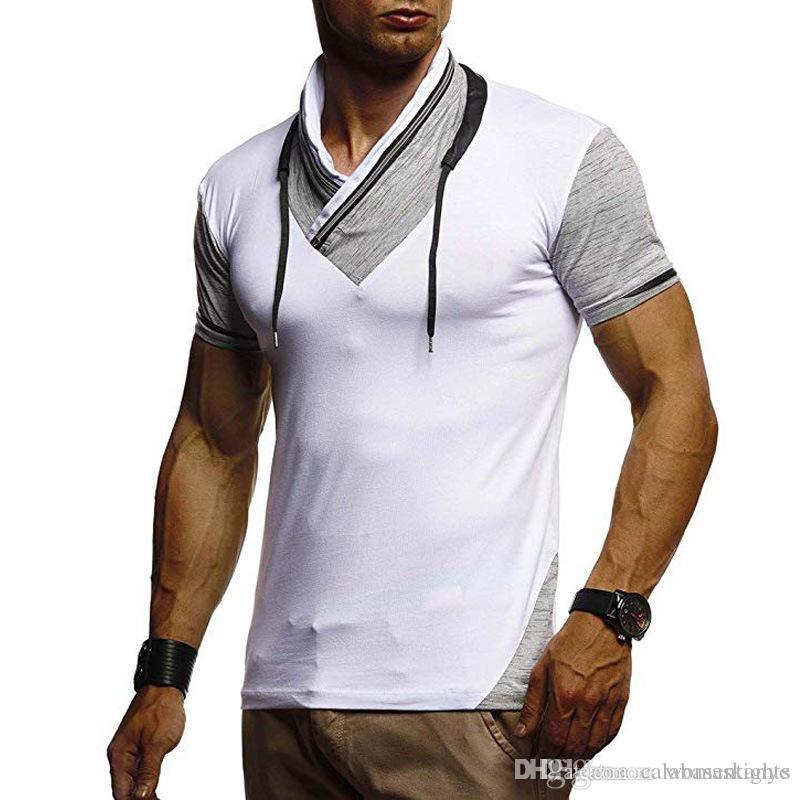 Дизайнер Mens Tshirts Лето Мужского короткий рукав Топы повседневной стильные тройники Одежда