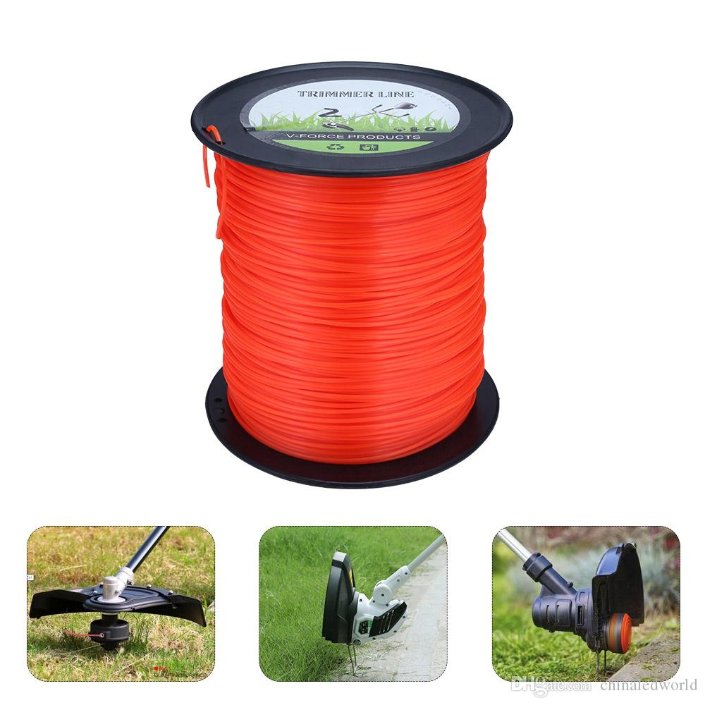 2.4mm 370m Nylon Trimmer Line Lawn Mower Rope Garden Tools Parts