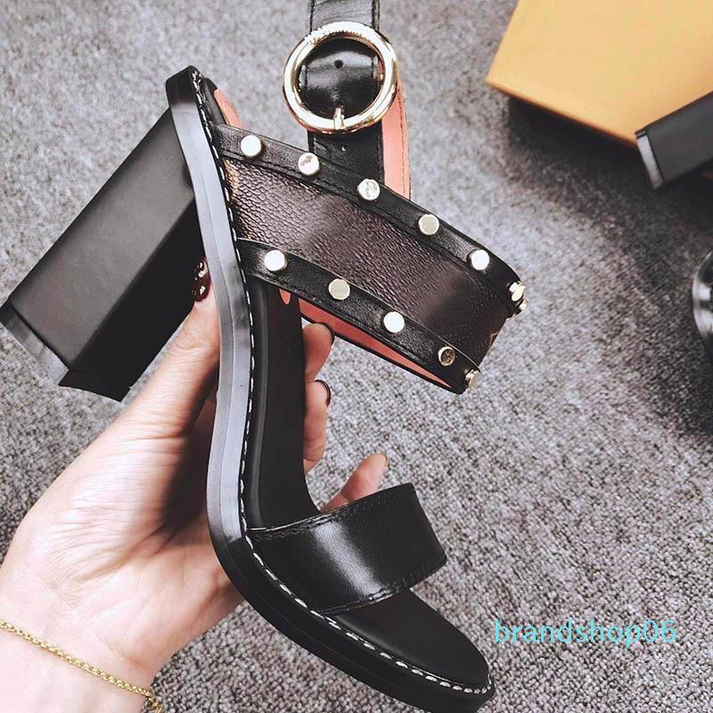 Zapatos de las mujeres PASAJEROS SANDALIA tacones altos de moda de lujo de diseño diseñador de las mujeres sandalias para mujer de los tacones altos sandalias de lujo des Chaussures lll