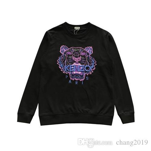 NO03. Mens Marca Logo Designer bordado Hoodies Hip Hop camisola Casual Masculino Suéter Inverno Jumper