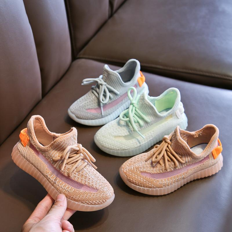 أحذية أطفال مصمم أحذية الهيب هوب العلامة التجارية للبنين بنات مراهقات نشط تنفس الاحذية يورو 23-40 3 ألوان