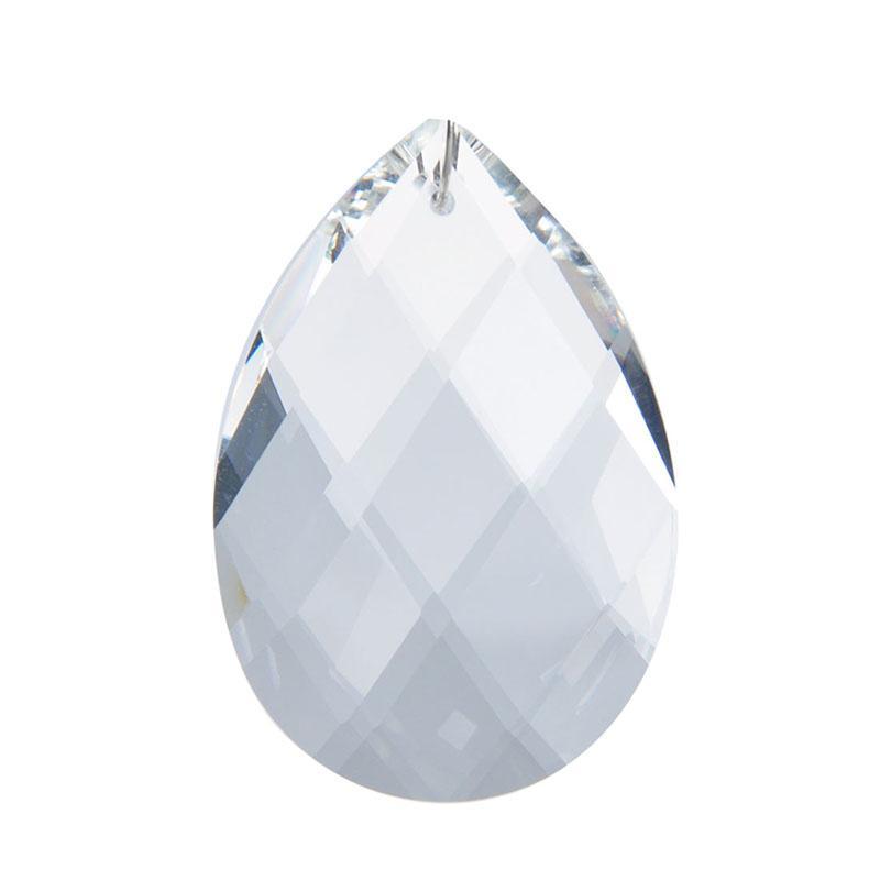 Clear Light Decor 50mm Pretty Chandelier Prisms Parts Crystal Pendants Drops Home Decoration